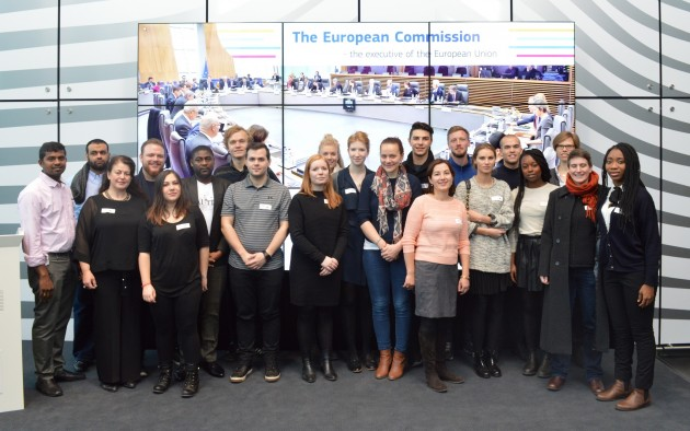 6group photo from the Commission